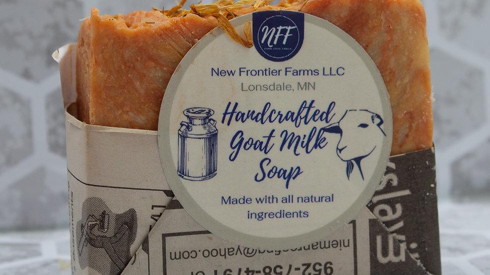 Marble Clay Citrus Goat Milk Soap