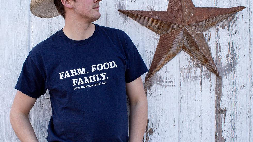 Farm. Food. Family. T-Shirt