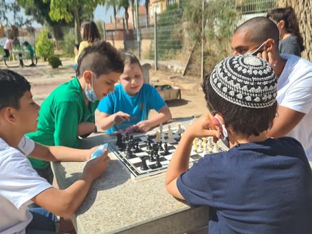 שחמט בהפסקה פעילה בבתי ספר בבאר שבע