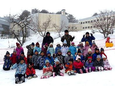 年長児:猪苗代へ雪遊びに行ってきました!