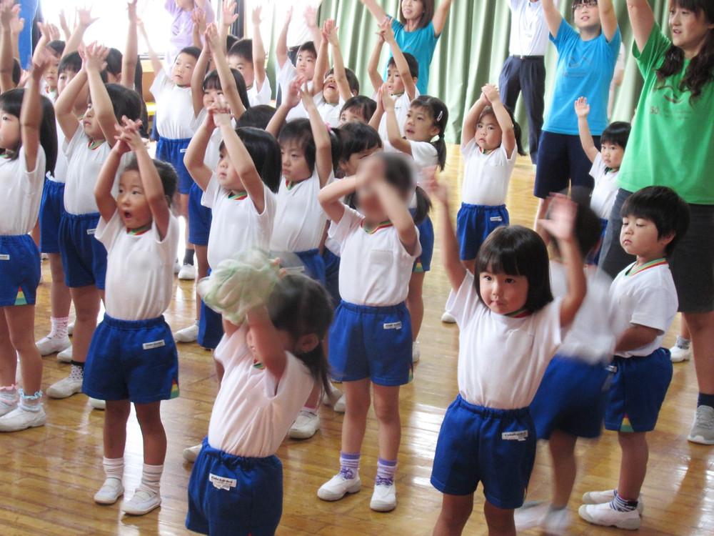 ダンス 体操 郡山市 片平町 片平学園 片平幼稚園 幼稚園 キッズマン ふくしまキッズマン