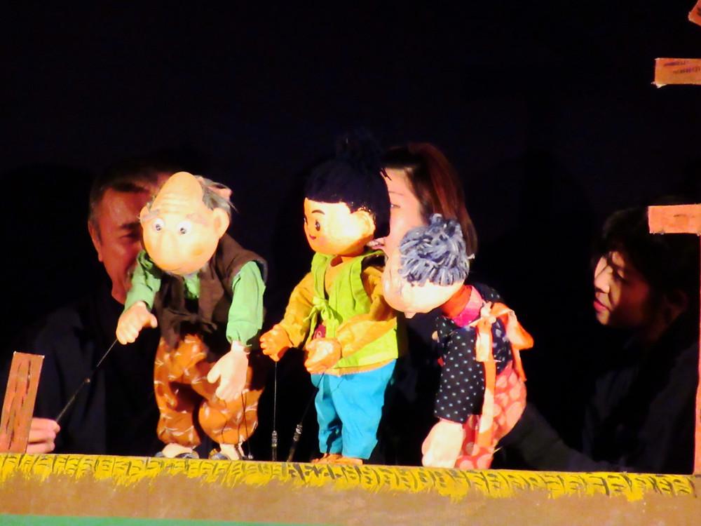 郡山市 片平町 片平学園 片平幼稚園 幼稚園 親子鑑賞会 人形劇 劇団 杉の子 桃太郎