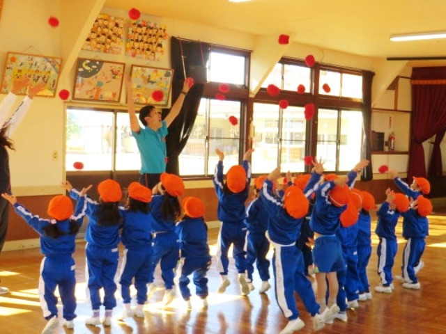 郡山市 片平町 片平学園 片平幼稚園 幼稚園 体操 体操教室 体操クラブ 運動 ホール