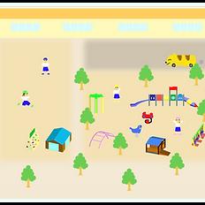 園庭マップ