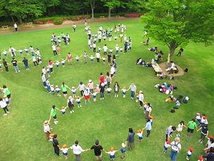 片平幼稚園の家族参観