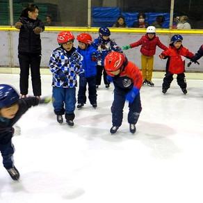年長児:スケート教室が行われました!