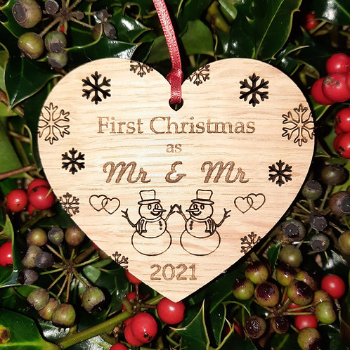 Heart First Christmas Mr & Mr