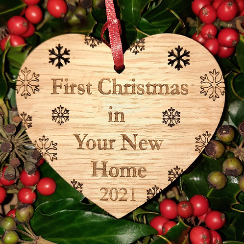 Heart First Christmas New Home