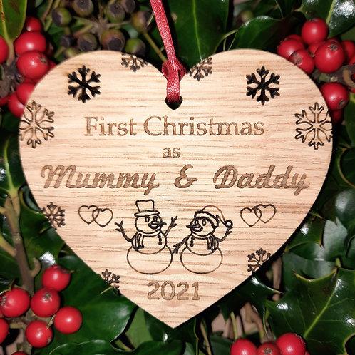 Heart First Mummy & Daddy
