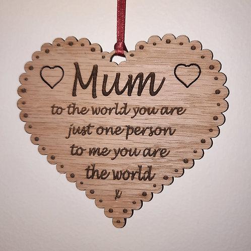 Mum to the World