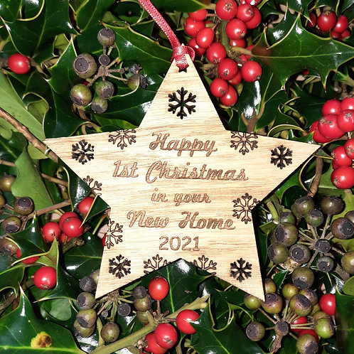 Star First Christmas Your new home