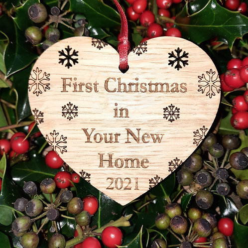 Heart First Christmas Your New Home