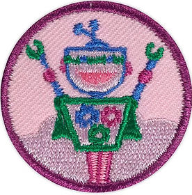 showcasing badge