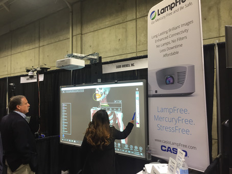 MaxPad & CASIO at Sacramento education show in 2019