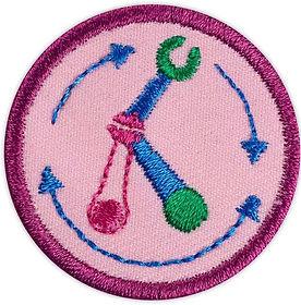 Designing badge