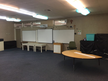 MaxPad installed in south California schools.