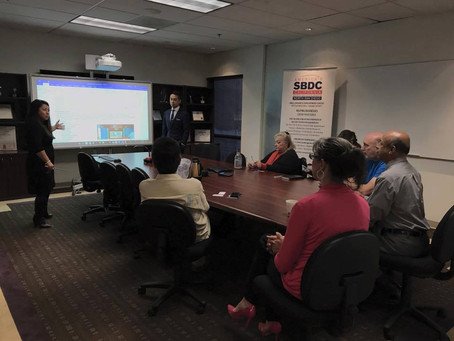 It is honored to be invited for MaxPad product demo in SBDC Mira Costa College Tech!