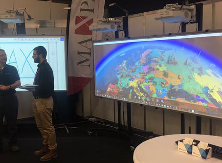 MaxPad in ORGATEC Cologne 2018 ,Cologne, Germany