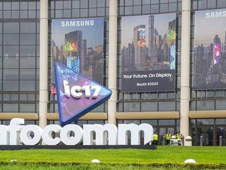 2017 Infocomm trade show