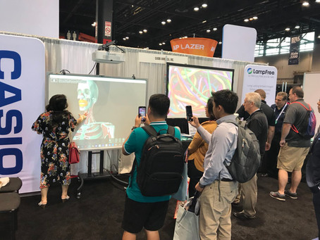 MAXPAD Interactive System at ISTE 2018, Chicago