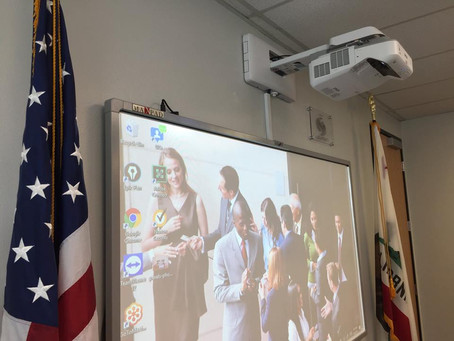 MaxPad installed in North San Diego Chamber