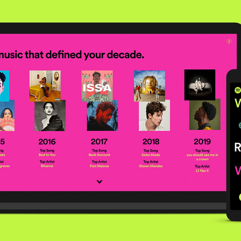 Spotify Sparks Nostalgia With A Decade Summary Of Your Most Played Music