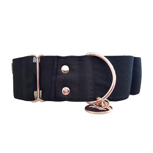Nior black martingale collar