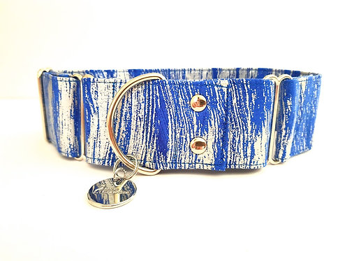 Blue Steel, martingale dog collar