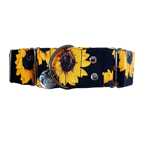 Sunflower martingale collar