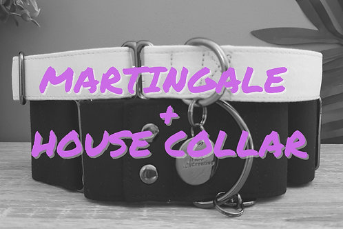 Martingale & House collar set