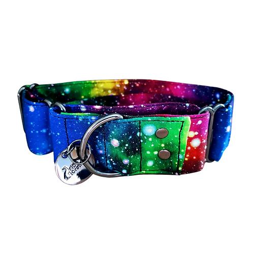Rainbow galaxy martingale collar