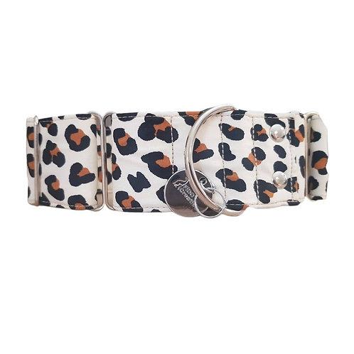 Wild Leopard Martingale Collar