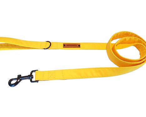Yellow dog leash