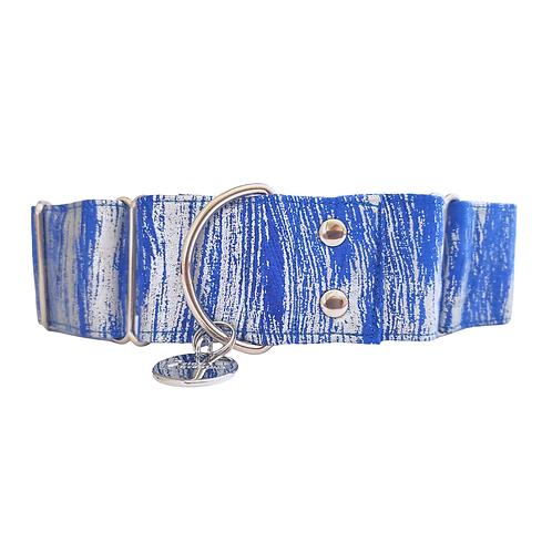 Blue Steel, martingale dog collar