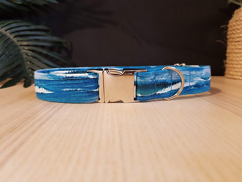 Salty Dog, waves metal buckle