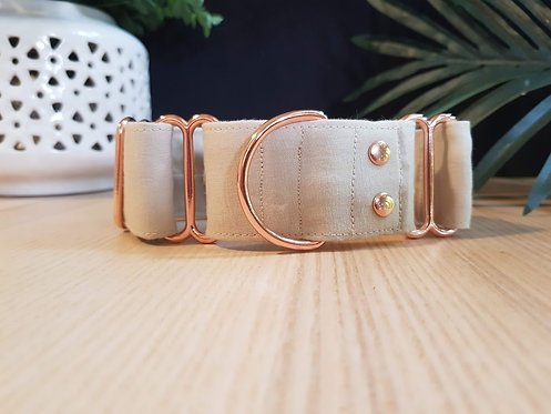 Beige Martingale Collar