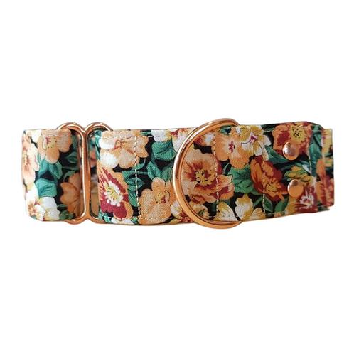Sanchi floral martingale collar