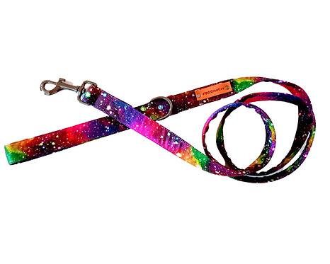Rainbow Galaxy dog leash, lead