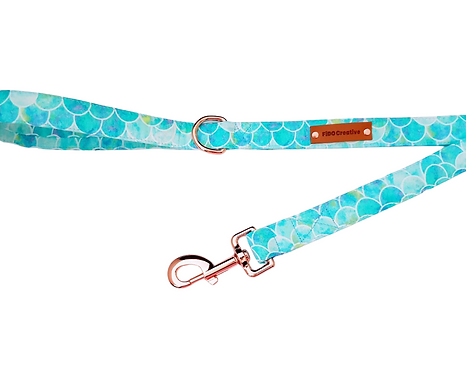 Arial mermaid dog leash, lead