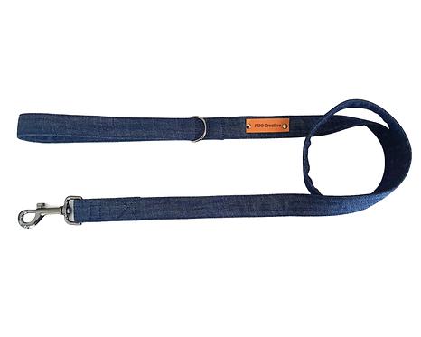 Denim dog leash, lead