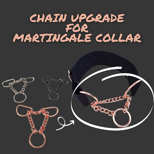 Chain upgrade for martingale collar