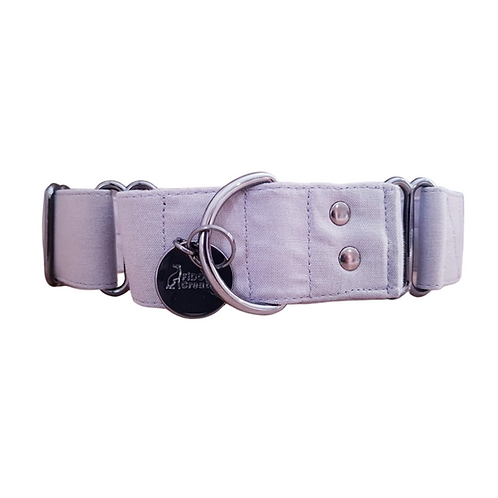 Grey martingale collar