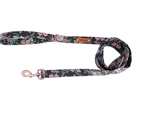 Wildflower grey dog leash, lead