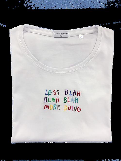 Less blah