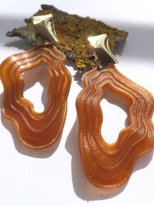 Pendientes Marble Ámbar