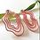 Thumbnail: Pendientes Mármol rojo
