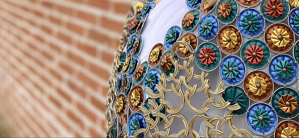 Gabriela Grajales. Diseños con cápsulas de café Nespresso