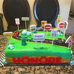 Instagram - Hot Wheels Cars and Trucks cake. Www.Specialtysweetc
