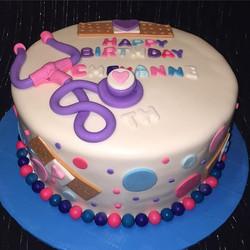 Instagram - 1 tiered Doc McStuffin cake. Www.Specialtysweetc