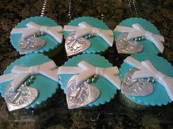 Tiffany cupcakes!